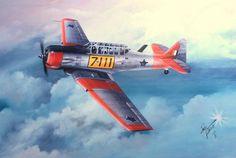 Fighter Aircraft, Fighter Jets, South African Air Force, Impalas, Korean War, Africans, Aviation Art, Harvard, Military Aircraft