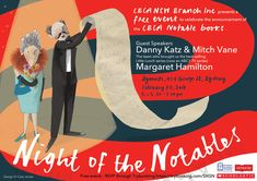 Night of the Notables NOF 2018 Flyer incl Margaret Hamilton Margaret Hamilton, Little Lunch, Guest Speakers, Announcement, Finding Yourself, Night, Celebrities, Children, Books