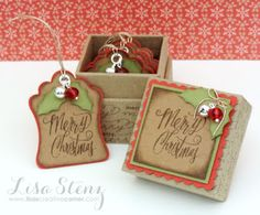 December Project Kit - Christmas Gift Tags and Mini Box Kit