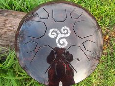 LOTUS DRUM - Handmade Steel Drum -  steel tongue drum hank halo hang drum handpan tank drum hand pan ufo
