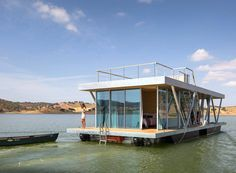 The solar-powered Floatwing in Portugal generates a year's worth of energy in six months.