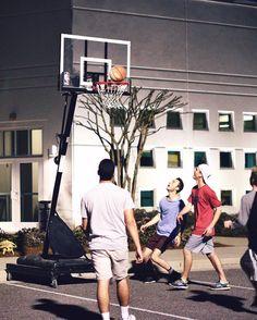 // basketball pt.2  #basketball #pickup #lastweek #smallgroup #pc3smallgroups #portcitychurch #night #blackandwhite #canon #canon_official #overflownc @pc3overflow