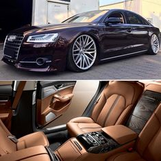 took to a whole new level with a jaw dropping interior design. Audi A8, Audi A3 Sportback, Audi Quattro, Audi Sport, Sport Cars, A3 8p, Ride Out, Lux Cars, Sports Sedan