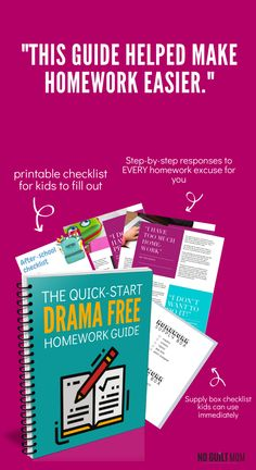 Tired of fighting with your child to start homework? This free guide with give you quick, actionable tips and resources to make homework motivation a breeze! Enter your email address to get the it sent to your inbox. Homework Motivation, Routine, Easy S, Kids Homework, Drama Free, Toddler Discipline, Kids Behavior, Kids Boxing, Anger Management