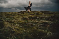 Breathtaking Wedding Photographs Make a Great Case for Eloping in Iceland - photos by Gabe McClintock