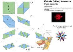 Origami Color Papel Manualidades Universo Star Moon de bricolaje artesanías Colección de recortes