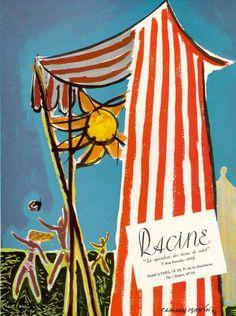 vintage ad: vintage travel ad