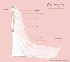 What veil length will you choose?