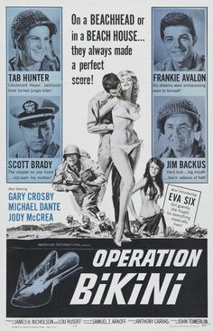 Operation Bikini - On a Beachhead or in a Beach House... They Always Made a Perfect Score!