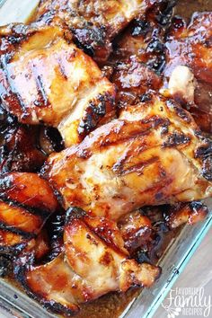 Grilled Hawaiian Teriyaki Chicken is the real deal. The sweet and savory Hawaiian teriyaki marinade is THE best and SO easy to make.This Grilled Hawaiian Teriyaki Chicken is the real deal. The sweet and savory Hawaiian teriyaki marinade is TH. Hawaiian Teriyaki Chicken Recipe, Hawaiian Grilled Chicken, Grilled Chicken Recipes, Grilled Teriyaki Chicken, Best Chicken Marinade, Grilling Recipes, Meat Recipes, Cooking Recipes, Chicken