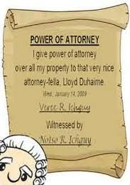 An Introduction to Powers of Attorney