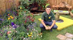 Here's Aiden Apprentice @DanbroLtd in the award winning @southportflower Garden he helped build #madebyapprentices