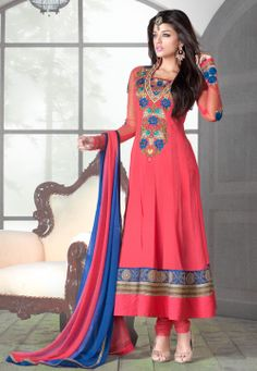 Natasha Couture - Shop with confidence from the exclusive collection of Indian Designer Women Clothing. We offer wedding lehenga, bridal lehenga, wedding sarees and anarkali suits online in India and Worldwide. Long Anarkali, Anarkali Dress, Anarkali Suits, Anarkali Churidar, Salwar Kameez, Churidar Suits, Patiala, Kurti, Indian Dresses