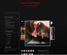 Theme made exclusively for Detroit Dog Designs