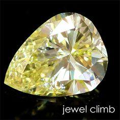 イエローダイヤモンド(Yellow Diamond)0.189CT
