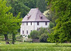 De eerste ontmoeting tussen Goethe en Christiane zou op 12 juli 1788 bij het Gartenhaus in het Park Weimar geweest zijn.