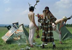 'Have Fun!' - Tim Walker's homage to the Kibbo Kift from Vogue Italia, November 2016
