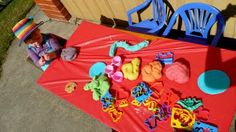 We definitely need a play-doh table, home-made good smelling kind. Play Doh Table, Rainbow Playdough, Kids Art Party, Picnic Blanket, Outdoor Blanket, Rainbow Parties, Made Goods, Art For Kids, How To Memorize Things