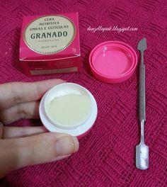 Resenha: Cera Nutritiva Unhas e Cutículas Pink da Granado