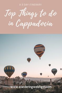 Discover all the top things to do in the magical landscape of Cappadocia. The perfect 3 day Cappadocia itinerary #turkey #cappadocia Top Travel Destinations, Europe Travel Guide, Best Places To Travel, Cool Places To Visit, Travel Guides, Turkey Travel, Blogger Tips, Ultimate Travel, Travel Goals
