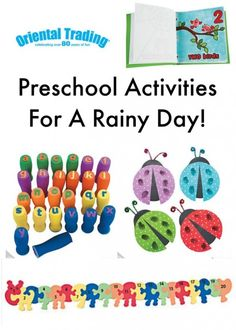 PreSchool Activities For A Rainy Day