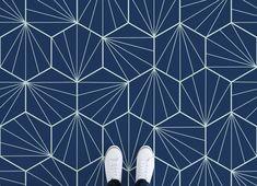 Art Deco Tiles Vinyl Flooring, leading Vinyl Flooring designed and manufactured by Atrafloor. Bring any design concept to life as Flooring. Tile Effect Vinyl Flooring, Vinyl Flooring Bathroom, Bathroom Vinyl, Linoleum Flooring, Bathroom Floor Tiles, Tile Floor, Floors, Ceramic Flooring, Bathroom Ideas