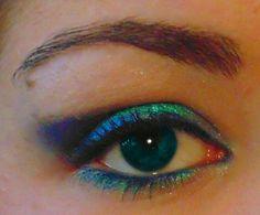 #makeup #eye #blue #occhio #trucco