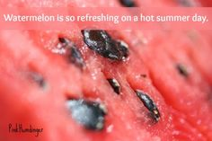 3 Ways to enjoy a watermelon on a hot summer day.