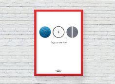 TRIATHLON ART Print. Quote Art Printable. by KeepMakingSmiles