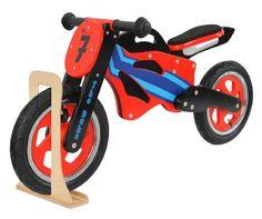 The Duke Wooden Motorbike Balance Bike with wooden stand Kidzmotion http://www.amazon.co.uk/dp/B0071J9S0G/ref=cm_sw_r_pi_dp_ylrwub14NRRMS £39.99 + £6.99 shipping