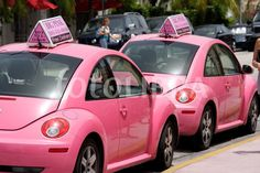 Pink Beetle! This is cool, and I love pink, but would rather have it in green or blue!