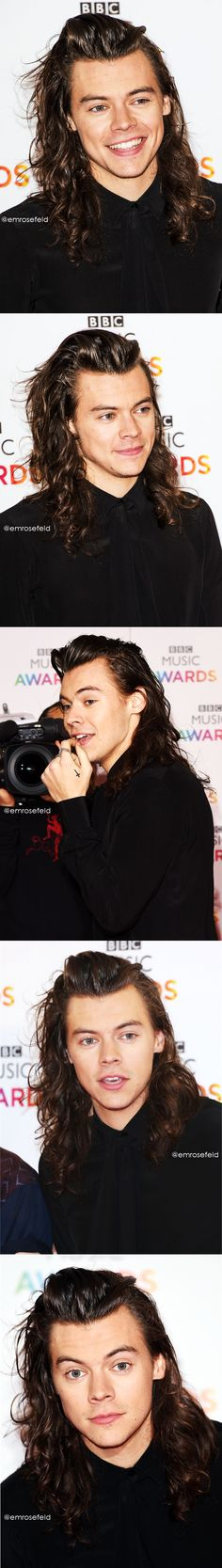 Harry Styles | BBC Music Awards 12.10.15 | @emrosefeld |