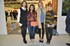 ArteFiera event: fashion bloggers and friends