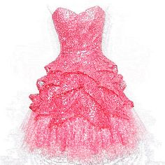 If I ever go to a ball... The Modern Princess ♕ :: Pink Sequin ...