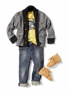 Baby Clothing: Toddler Boy Clothing: We ♥ Outfits | Gap. Well it looks like Diego is getting a new wardrobe today!