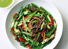 Image: Buckwheat noodle salad