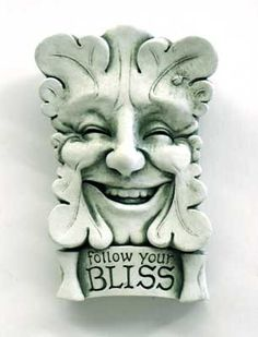 Follow Your #Bliss - #Carruth #Face #gift #garden #handcrafted #madeinAmerica #weatherproof http://www.carruthstudio.com/categories/Nature-Faces.aspx/?source=pinterest #plaque