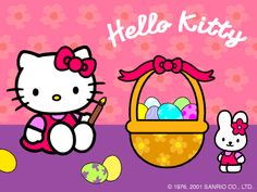 Hello Kitty Happy Easter Pictures