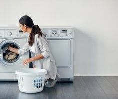 These Laundry Hacks Will Save You a Ton of Money on Your Dry-Cleaning Bill - Brit + Co Dry Cleaning, Cleaning Hacks, When You Come Home, Appliance Sale, Mesh Laundry Bags, Laundry Hacks, Faux Leather Skirt, Washing Machine, Real Leather