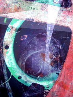 Scrapyard Series - Lisa Grey, disperse dye prints