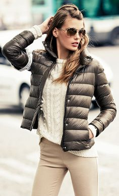 Abrigos de plumas, Â¡una de las tendencias del momento!