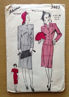 Your place to buy and sell all things handmade Vintage Dress Patterns, Vintage Dresses, 1940s Costume, 1940s Outfits, Work Tops, 1940s Fashion, Cabaret, Work Clothes, Burlesque