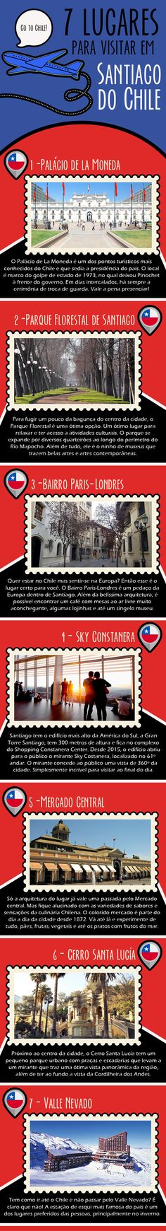 #SevenList #CabideColorido #Art #Infográfico #Design #Viagem #SantiagodoChile…