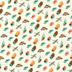 Illustrations / Pattern Owen Gatley — Designspiration