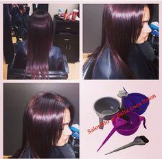 pretty red!! #cutandcolor SalonBlu @ Bella Luca Salon