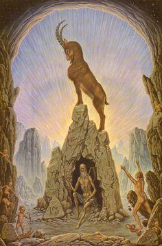 Kozorožec, Capricorn by Johfra Bosschart