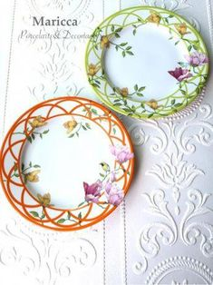 """Magnificent Mums Flowers Floral Spring Garden Tea Party 9/"""" Paper Dinner Plates"""