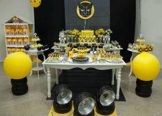 Transformers Birthday Party Dessert Table