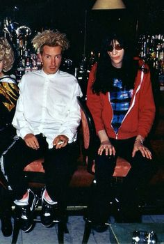 John Lydon and Joey Ramone. Now that's a pair!