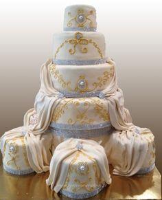 Pièce montée Castel : pièce montée originale, wedding cake, gateau mariage
